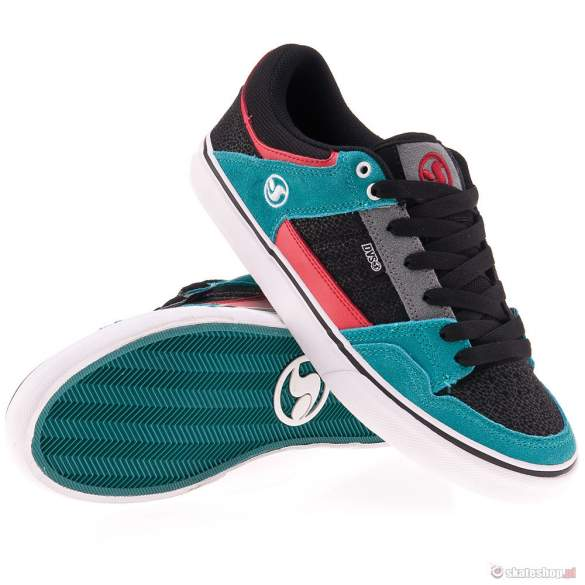 DVS Ignition CT 13 (black/teal suede) shoes