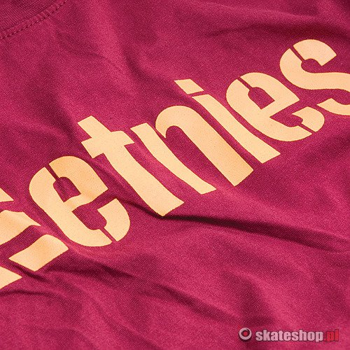 ETNIES Corporate 10 (burgundy) t-shirt