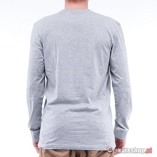 ETNIES Corporate 10 (grey heather) longsleeve