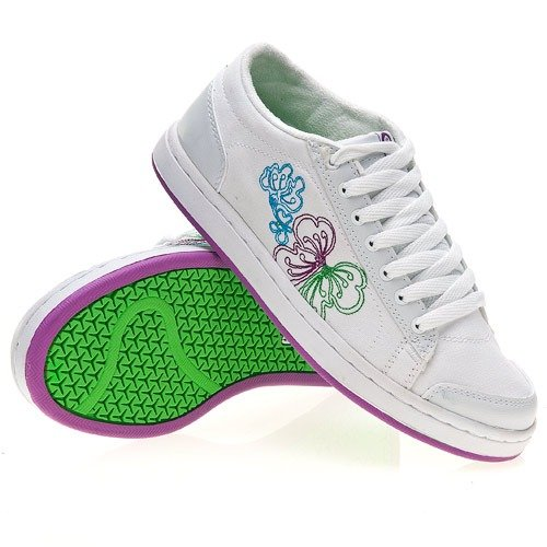 ETNIES Lo-Pro Baller WMN (white/purple) shoes