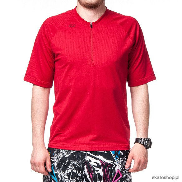 FOX Baseline (red) bicycle jersey