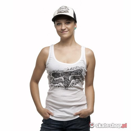 FOX Call Me Fox Tank (white)