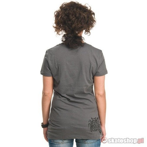 FOX Overspray WMN charcoal t-shirt