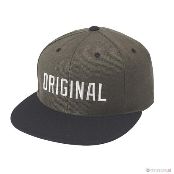 KR3W Original (drab black) snapback
