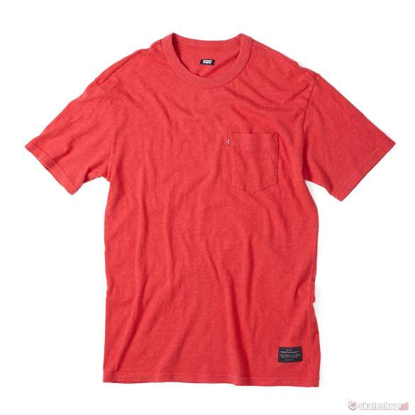 LEVI'S Pocket Tee (red heather) t-shirt