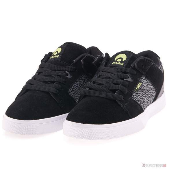 OSIRIS PLG VLC '13 (blk/wht/lme) shoes