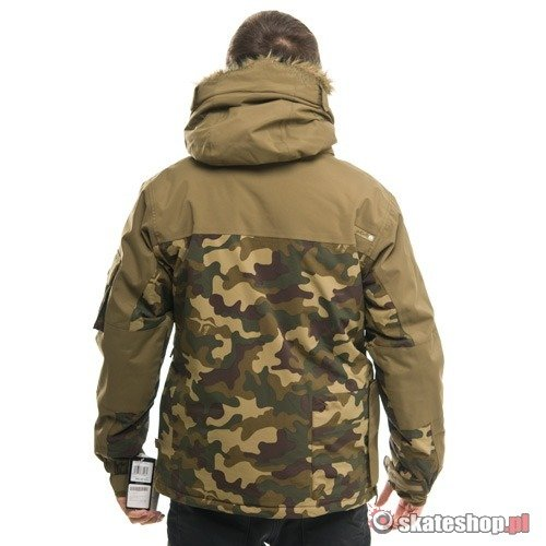 PLANET EARTH Ozone military olive jacket