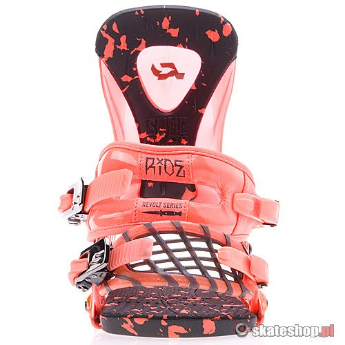 RIDE Revolt (orange) snowboard bindings