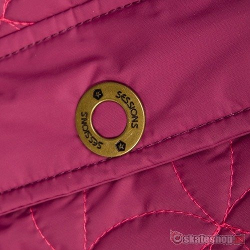 SESSIONS Beauty J's plum snowboard jacket