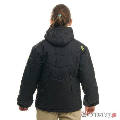 SESSIONS Burberry J's black snowboard jacket