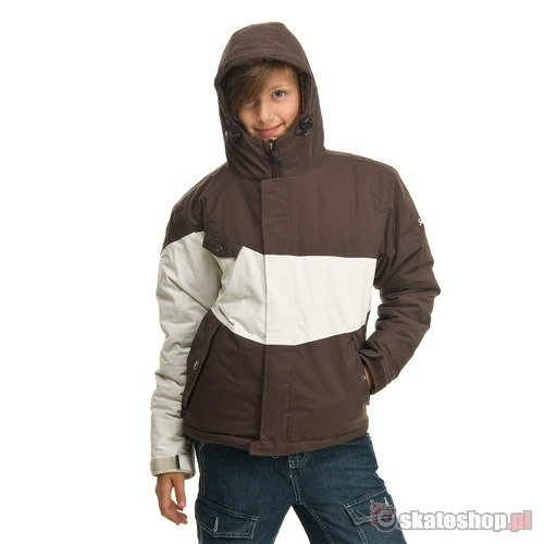 SESSIONS Hanford J's brown snowboard jacket