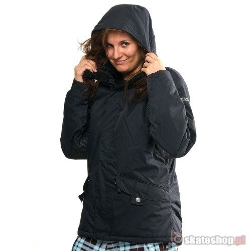 SESSIONS Jackson Mobstripe WMN black snowboard jacket