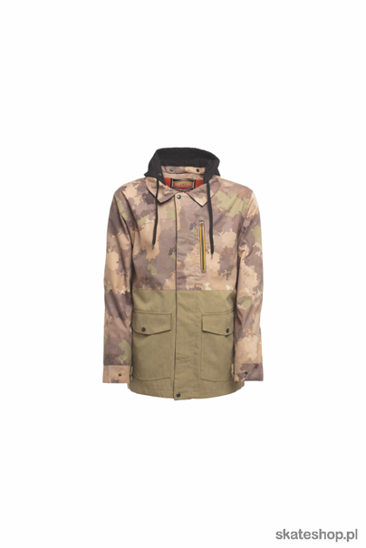 SESSIONS Lithium (camo fatigue) snowboard jacket