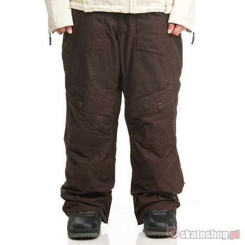 SESSIONS Relay WMN java brown snowboard pants