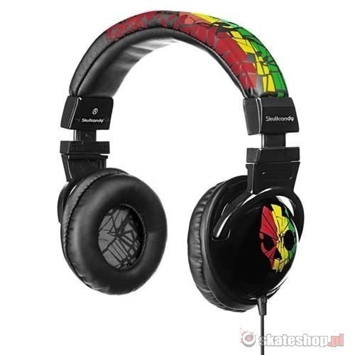 SKULLCANDY Hesh (rasta) headphones