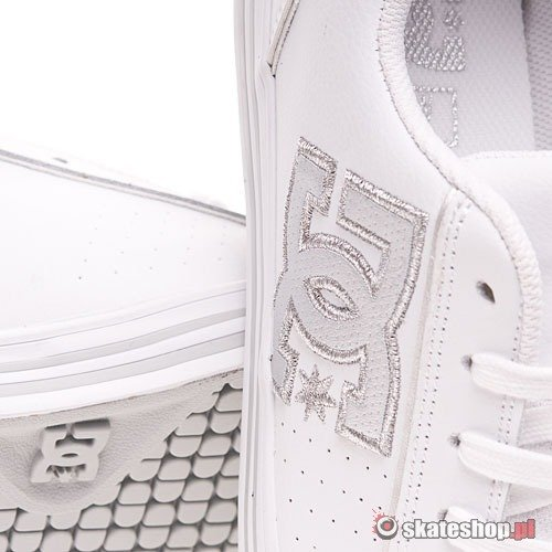 Shoes DC Conquer Wmn (white/silver)