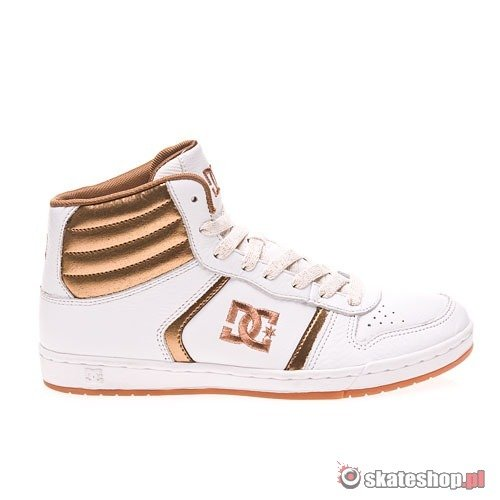 Shoes DC Spruce Hi WMN (white/bronze)