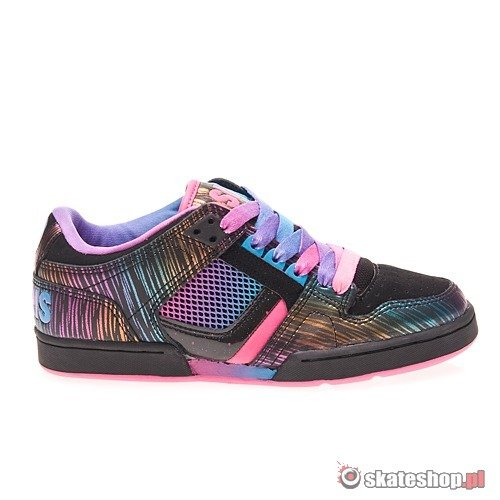 Shoes OSIRIS Harlem Girls (black/pink/cyan)