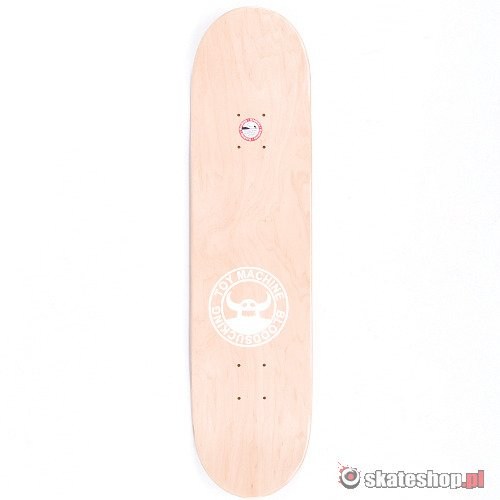 TOY MACHINE Sect Eye (purple) 7.875 skateboard deck