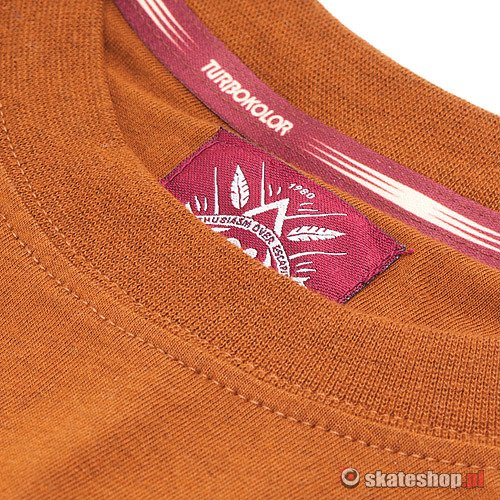 TURBOKOLOR Cezar (heather brown) longsleeve