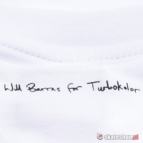 TURBOKOLOR Will Barras 03 (white) t-shirt