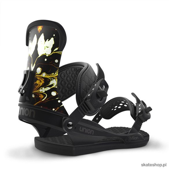 UNION Milan (black) snowboard bindings