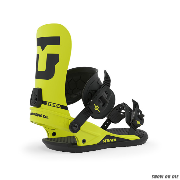 UNION Strata (hazard yellow) snowboard bindings