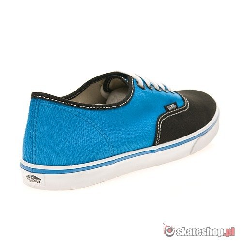 VANS Authentic Lo Pro 2 Tone WMN black/brillant blue shoes