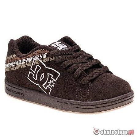 Buty DC Character KIDS (dark chocolate) brązowe