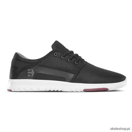 Buty ETNIES Scout (black/dark grey/red)