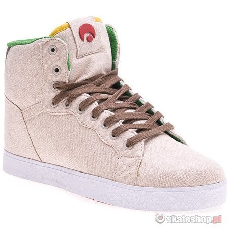 Buty OSIRIS Grounds (tan/brown/white) beżowe