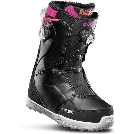 Buty snowboardowe THIRTYTWO Lashed Double BOA WMN (black/pink)