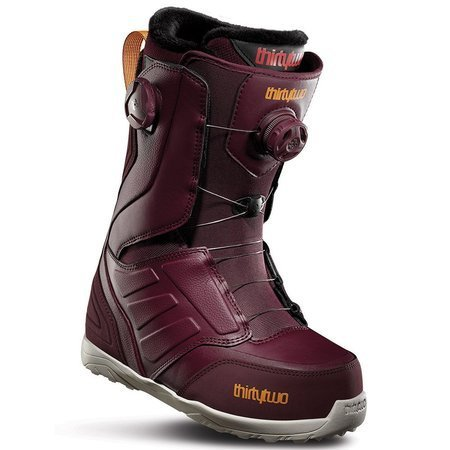 Buty snowboardowe THIRTYTWO Lashed Double BOA WMN (burgundy)