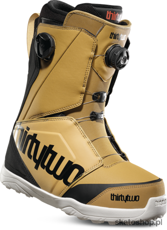 Buty snowboardowe THIRTYTWO Lashed Double BOA (gold/black)