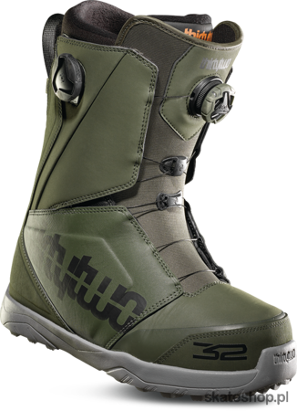 Buty snowboardowe THIRTYTWO Lashed Double BOA (olive)