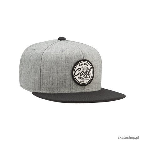 Czapka z daszkiem COAL The Classic (Heather Grey)