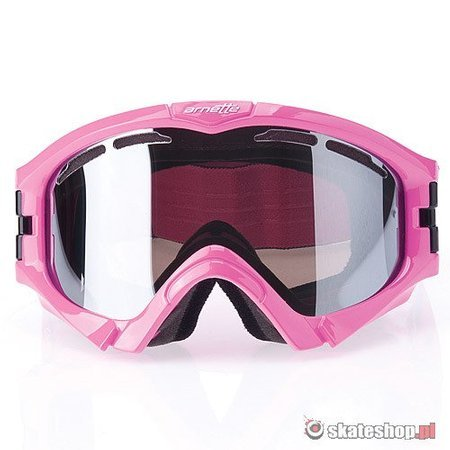 Gogle ARNETTE Series 3 (blaze pink/pinstripes/mercury chrome)