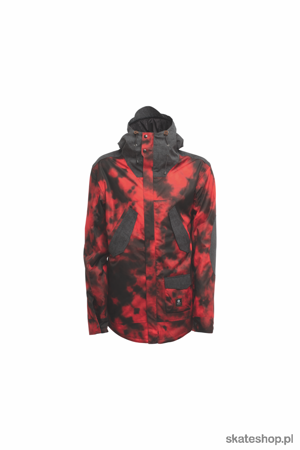 Kurtka snowboardowa SESSIONS Wire (tye dye red)