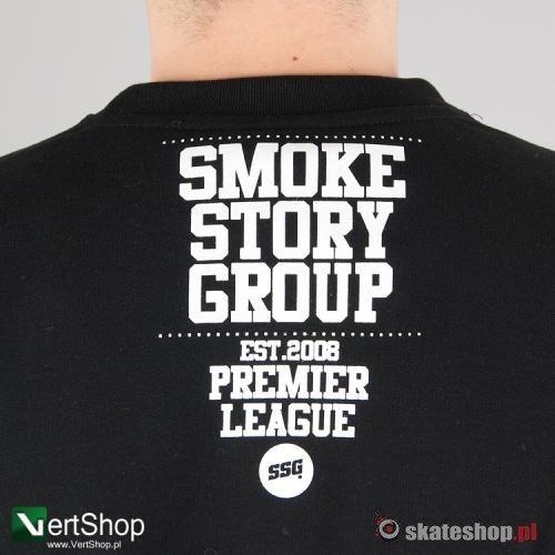 bluza smoke story group baseball czarna