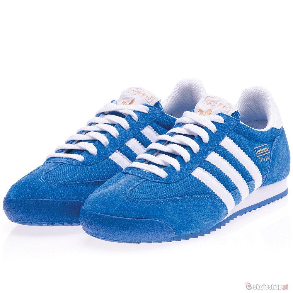 buty adidas white męskie niebieskie