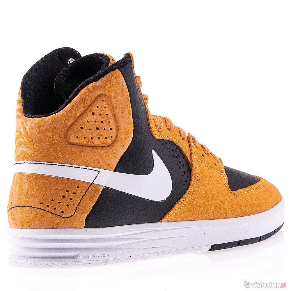 check out 01110 3856b ... Buty NIKE SB Paul Rodriguez 7 High (laser orangewhiteblack)  pomarańczowe ...