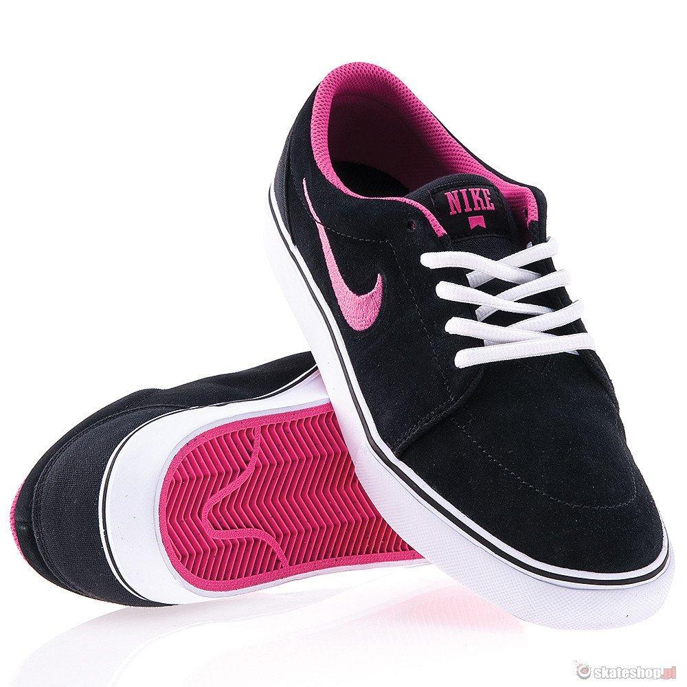 delikatne kolory buty do biegania niesamowity wybór Buty NIKE Satire (black/white/pink) czarno-różowe | skateshop.pl