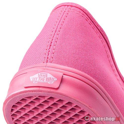 Buty VANS Authentic Lo Pro WMN (rouge redtrue white) różowe