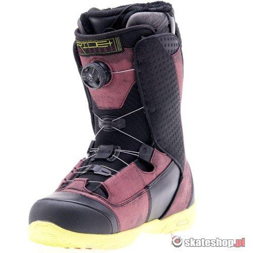 ... Buty snowboardowe RIDE Insano Focus Boa (maroon) czarno-fioletowe smpl  ... b5926b79a