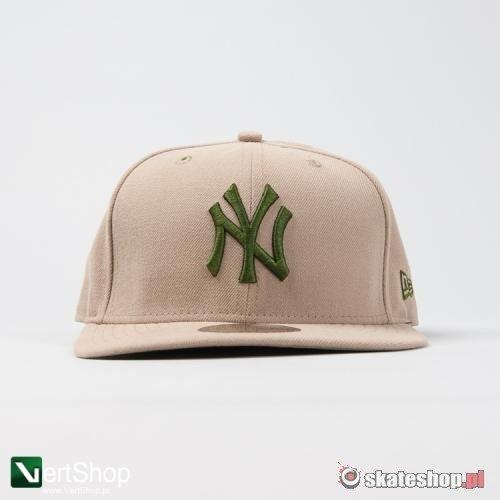 cała kolekcja dobrze znany przystojny Czapka Full Cap NEW ERA NY Yankees (beżowa) | skateshop.pl