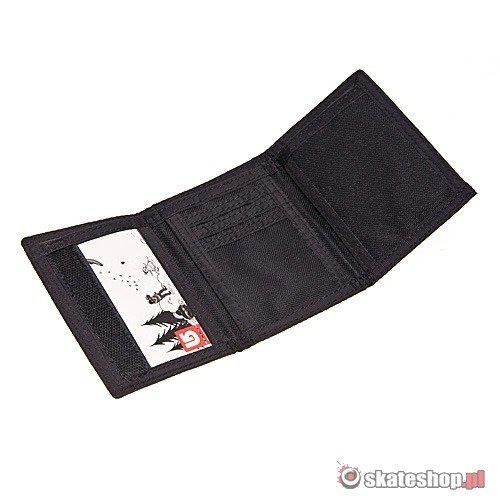 29330170cf18e Portfel BURTON Cory (black stripe) czarne paski | skateshop.pl