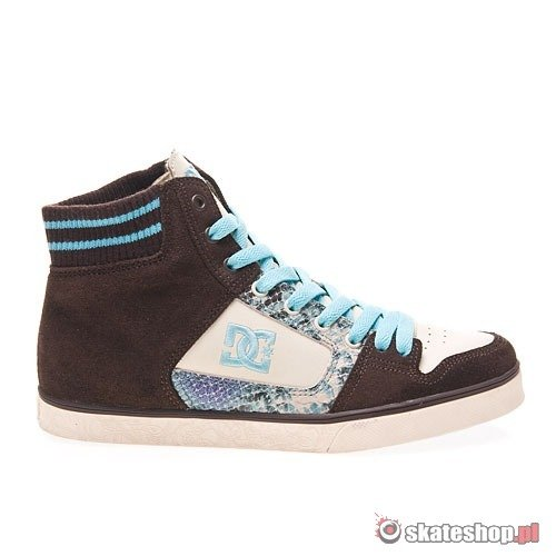 Buty DC Manteca Slim WMN (dark chocolate/dove) beżowo-brązowe 578
