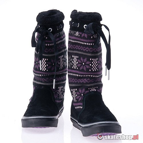 Buty VANS Marley WMN (black/purple)