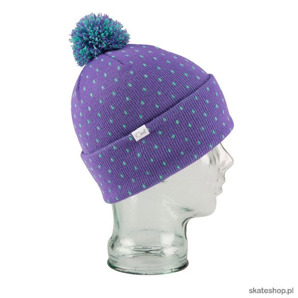 Czapka COAL The Dottie (purple)