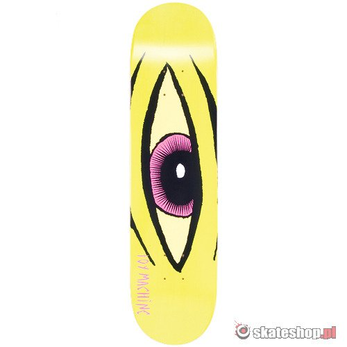 Deck TOY MACHINE Sect Eye (neon lime) 8.0